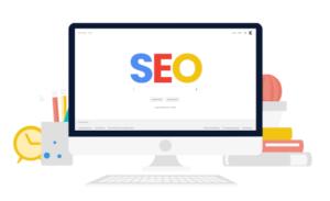 Google optimierte Website