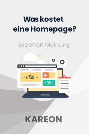 Was kostet eine Homepage