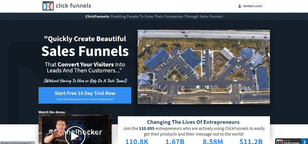 Clickfunnels Landingpage