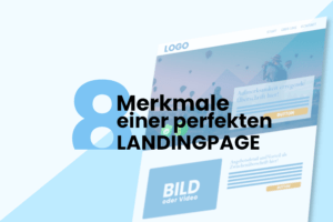 Elemente einer Landingpage