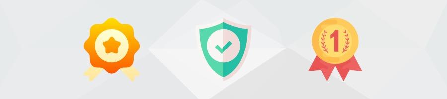 Trustelemente auf der Landingpage